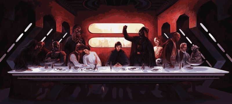 last-supper-star-wars