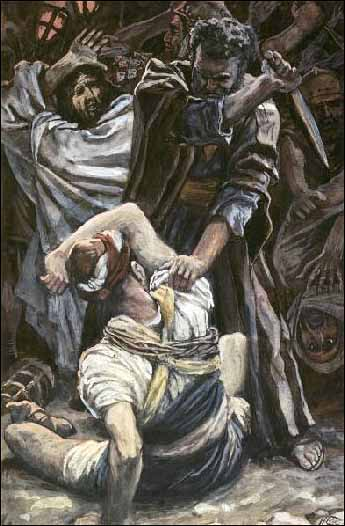 Peter Smites Off the Ear of Malchus