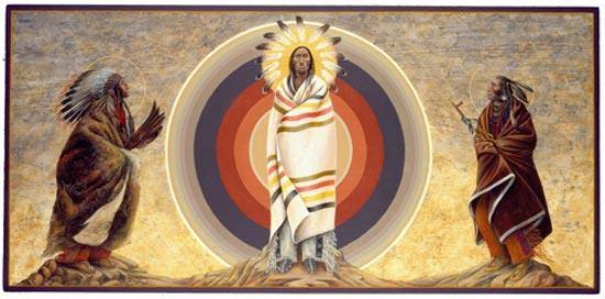 Transfiguration of Jesus by Fr. John Giuliani