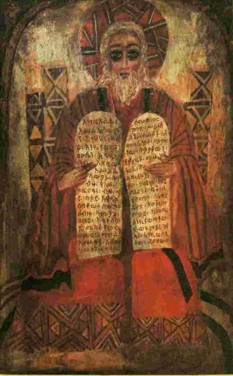 Moses and the Ten Commandments by Barbara Goshu