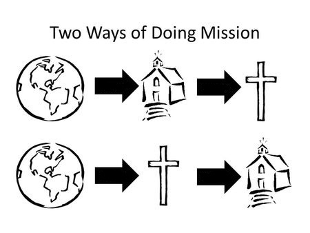 two ways of doing mission