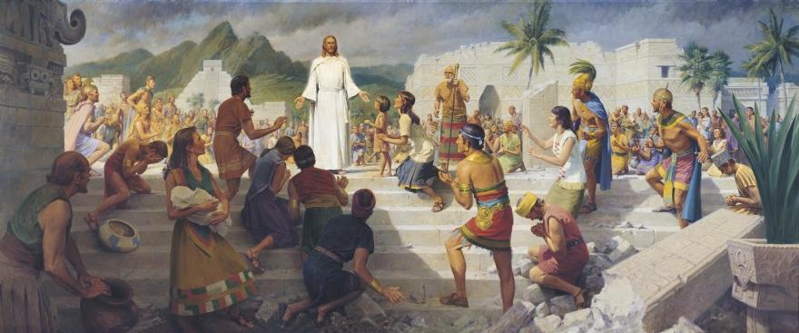 Jesus-christ-visits-the-americas-john-scott