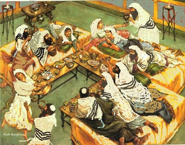 seder meal - last supper - jewish jesus Rod Borghese