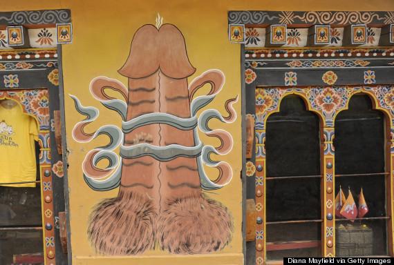 BHUTAN-PHALLUS