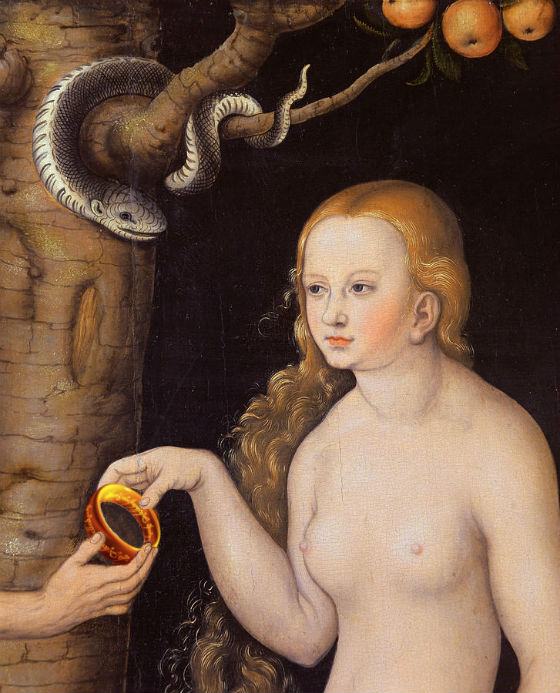 adam and eve tempted by the ring of sauron