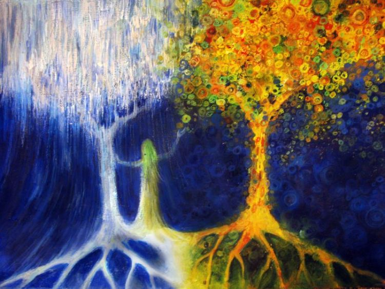 Two_trees_of_valinor_by_alasseaearello