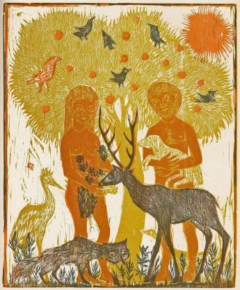 Adam & Eve in the Garden of Eden
