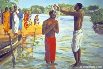 baptism of jesus mafa