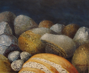 Bread and Stone - Artist Unknown