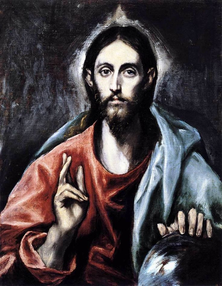 El Greco, Christ blessing