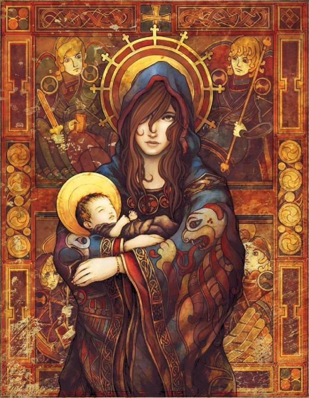 Madonna and Child by Parker Fitzgerald and Brittany Richardson
