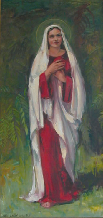 Our Lady of the Tui, Julia B Lynch, Sister Mary Lawrence