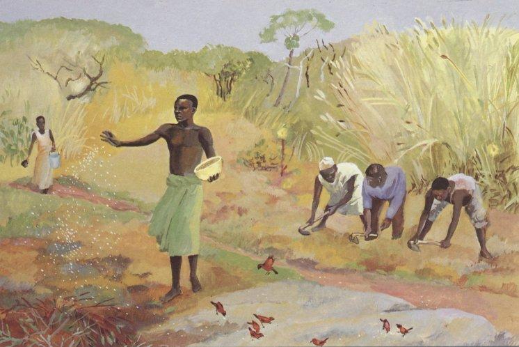 The Sower - Luke 8:4-15