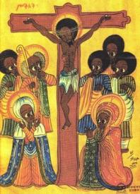 rasta jesus - crucifixion