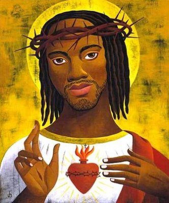 rasta jesus -sacred heart