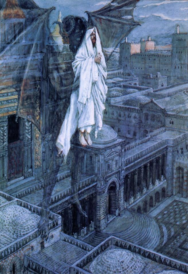 Satan Tried to Tempt Jesus James Tissot, 1895