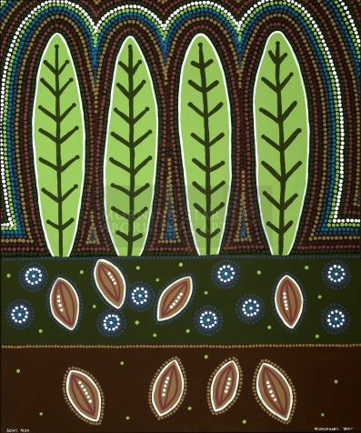 Narelle Urquhart is an Australian aboriginal artist. Not only was her mother part of the Stolen Generation, but Narelle and her siblings were also removed from their home in Sydney and taken to a Catholic Nummery in Gosford NSW in the early 1970's. Eventually, Narelle's father got them back and raised them as a single parent.