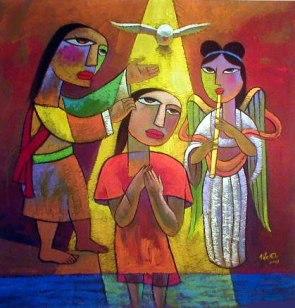 the-Baptism-of-Jesus he qi