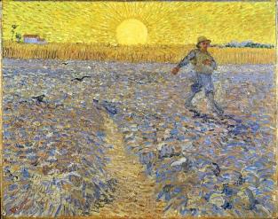 The Sower by Van Gogh (1888)