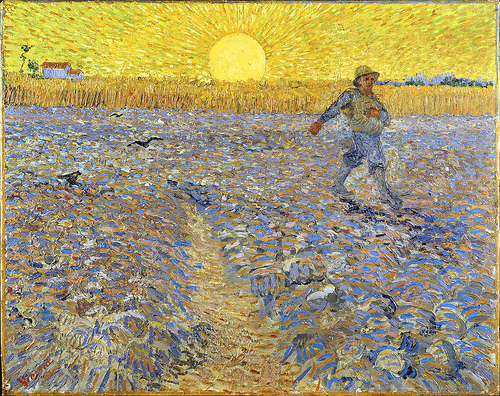 The Sower by Van Gogh (1888)
