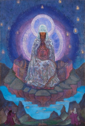 Veiled Mother of the World by Russian esoteric Christian Nicholas Roerich