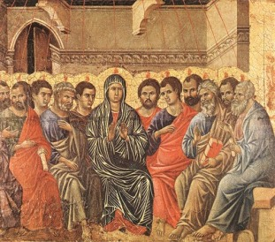 Descent of the Holy Spirit by Duccio di Buoninsegna
