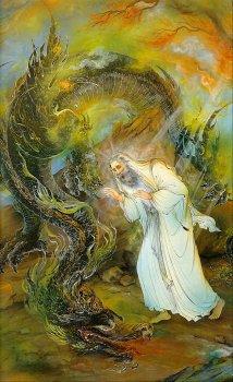 Moses by Farshchian