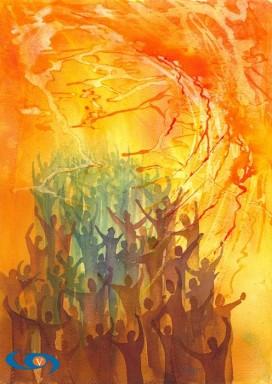 Pentecost by Mark Wiggin