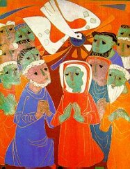 Pentecost, Egino Weinert, Germany