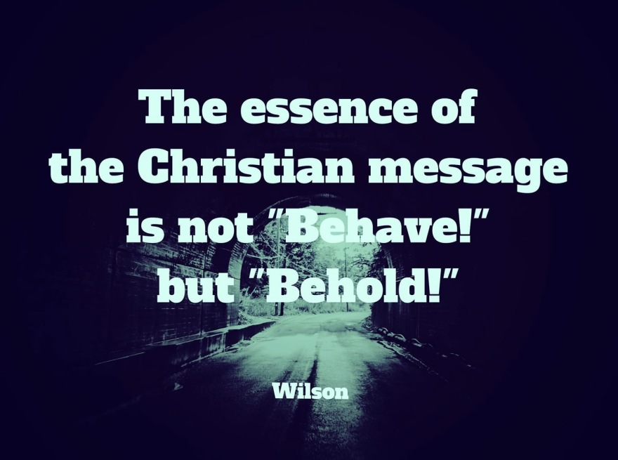 behold not behave
