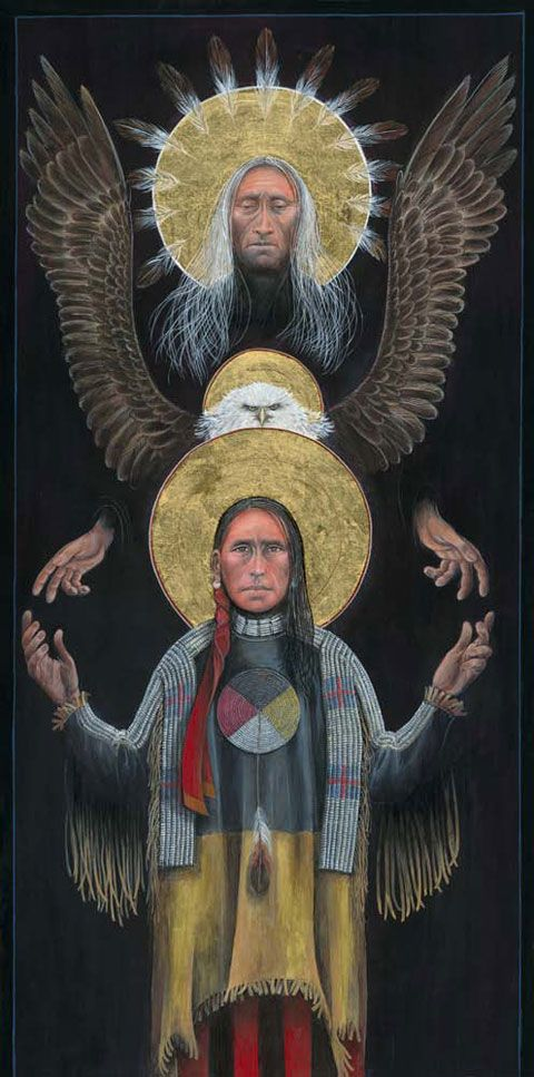 Lakota Trinity by Father John Giuliani