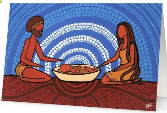 aboriginal nativity - rachael saunders