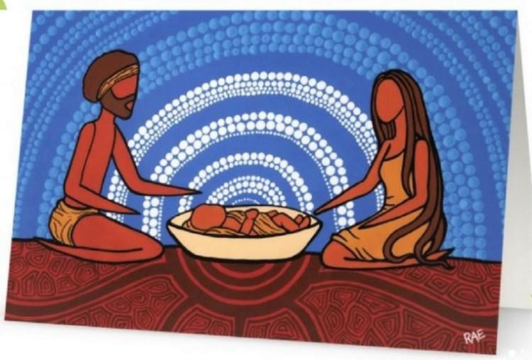 aboriginal nativity - rachael saunders