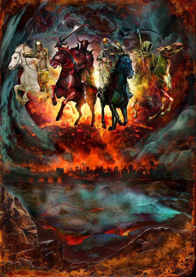 Four_Horsemen_by_MarkWilkinson