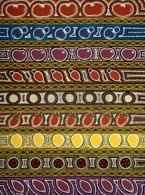 FRUITS of the spirit by aboriginal artist Narelle Urquhart