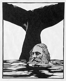 Woodcut of Jonah and the Whale