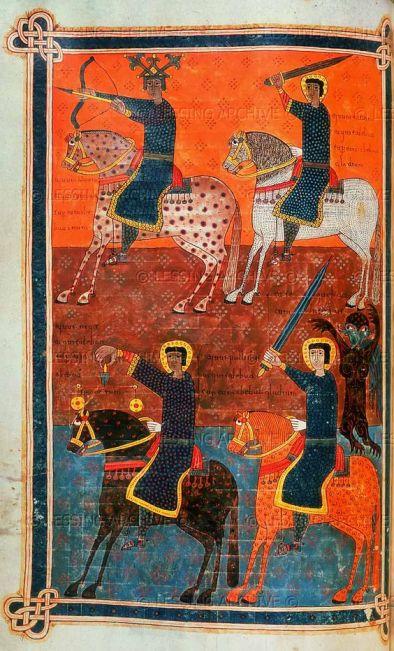 Silos Apocalypse - four horsemen