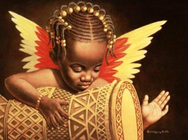 african-angel-child
